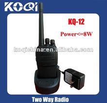 Two way radio KQ-12 8Watts High power Interphone