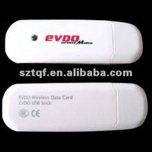 EVDO/CDMA 3G USB MODEM 800MHZ 3G wireless TF card