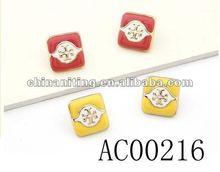 2013 fashion Jewelry hot sale top 1 fashion earrings gift basket ball wives earrings OEM
