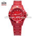 QA0001 newest design acrylic watchmen wristwatch