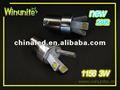 10~30v 3w s25/1156/1157 cob led auto/de freno del coche/encender la luz de la bombilla
