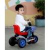 High quality of 6v electric children motorcycles with 6V battery, safe backrest