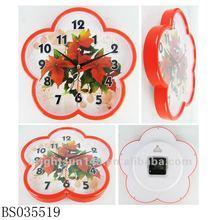 "11"" The plum blossom Floral diagram wall clock"