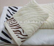 solid color zero twist cotton towel