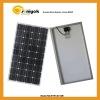 130W solar power module mono PV solar panel
