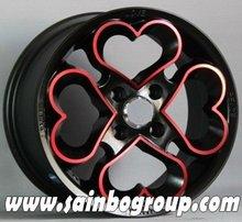 used car aluminum matt /mat /gloss wheels F031