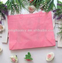 Cute pink Non woven shopping bags