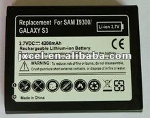 original Mobile phone batteries for Samsung i9300