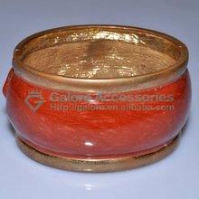 wholesale nice big brown color brass bangle