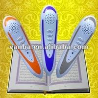 23 translation voices and 10 famous reciters VA8900 saint coran stylo de lecture electronique with Digital Quran Audio Book