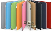 Hot Ultra Slim Magnetic PU Leather Smart Cover for new iPad iPad 2