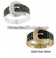 2012 new fashion metal o ring belt buckle