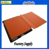 4 folding with stand holder rotate leather case for ipad mini