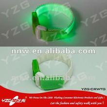 2012 hot sell LED fluorescent wristbands custom cheap