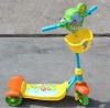 3 large wheels mini kick scooter for kids