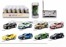 high speed 1:58 mini coke can racing car (4ch)