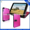 for ipad mini metal case,shiny surface with adjustable stand offer