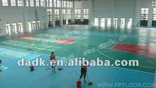 PP Indoor Badminton Flooring
