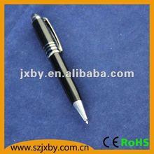 Silver Short Mini Metal Ball Pen With Customer Logo