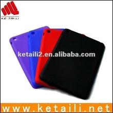 soft gel case for mini ipad (Passed BV, FDA, SGS certificates)