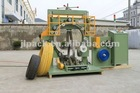 Cable wire packing machine,Vertical hose coil wrapping machine