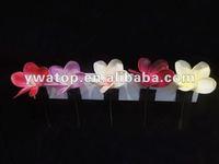 Real Touch Artificial Frangipani Plumeria PU Hair Flower