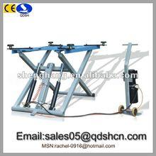 3000kg 1000mm Hydraulic scissor car lift/Cheap car ramp/Portable movable car hoist/Garage equipment for car washing QDSH-S3010