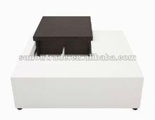 2012 new modern teak wood coffee table