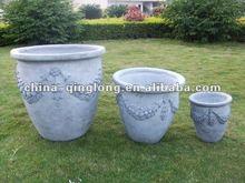 2012 hot sale clay pot flower planter QL-3682