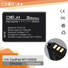 2012 New 1050 mAh for COOLPAD W711 long lasting battery for mobile phones