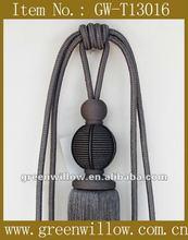 Craft tassel tiebacks