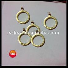custom ring zipper pull