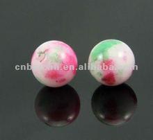 Fashion many colorful gemstone beads
