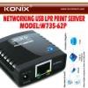 10/100Mbps usb network server