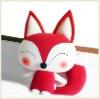 Soft Stuffed Plush Fox Toys OEM