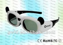 2012 CineAsia new children style shutter 3D glass for 3D TV
