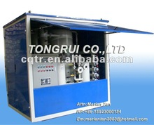ZJA Double-stage vacuum transformer oil purifier machine with weather-proof cover