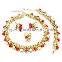 fashion jewelry kundan jewelry set