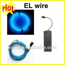 hot ! hot ! high brightness christmas tree decorate curved el wire/el wire