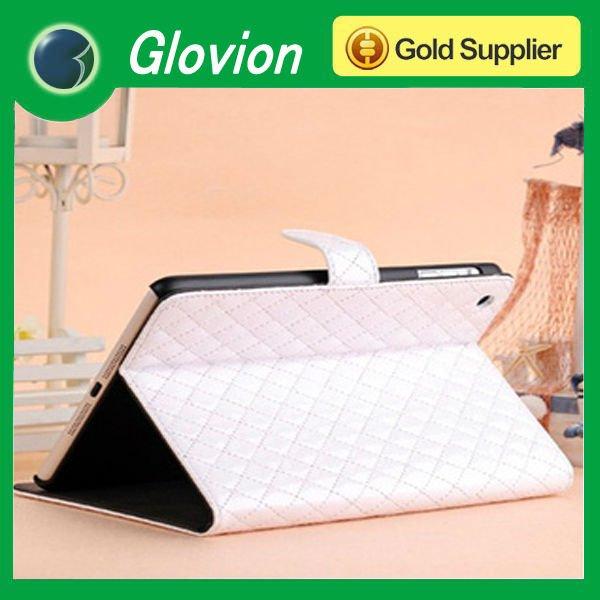 Hot sale leather case for ipad mini PU Case For ipad mini rotating Case For ipad mini