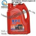 Yuchai peças petróleo construção equipamentos ch-4 20w-50 4l motor diesel de petróleo