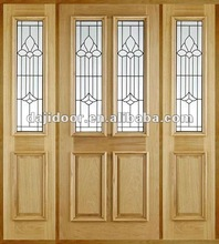 Glass Inserts Main Door Designs For House DJ-S9212MST-13
