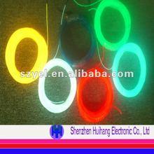 Halloween's cool decoration EL wire 4.0mm diameter & 50 meters long