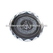 Ayat-Al Kursi Crystal Islamic Gifts Crystal Arabic Wedding Gifts