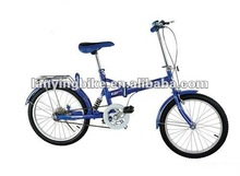 2012 hot selling good quality 20 inch foldable bicycle