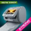 """HD705: Xtrons 2 x 7"""" Headrest Car Audio Player USB SD"""