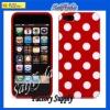 Polka dot case bumper case latest TPU case for iphone 5