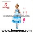 loongon plastic dolls wholesale Doll Set fashion doll
