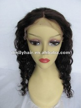 wholesale cheap human hair full lace wig halloween costumes long hair