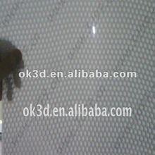 China(OK3D) 80 LPI 0.4mm 74*54CM 360 degree fly eye lenticular sheet,fly eye lens,3d plastic circle dot lens sheet